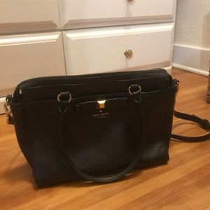 Kate Spade Black Shoulder Bag (Large)